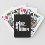 Grandfathers Birthdays : Number One Grandpa Bicycle Card Deck