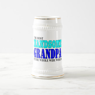 Grandfathers Birthdays Parties : Handsome Grandpa Beer Stein
