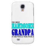 Grandfathers Birthdays Parties : Handsome Grandpa Galaxy S4 Cover