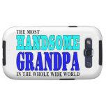 Grandfathers Birthdays Parties : Handsome Grandpa Samsung Galaxy SIII Case