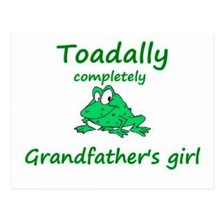 grandfather's girl postcard