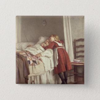 Grandfather's Little Nurse Pinback Button