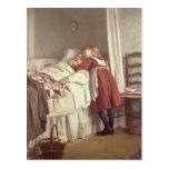 Grandfather's Little Nurse Postcards