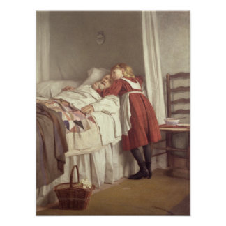 Grandfather's Little Nurse Poster