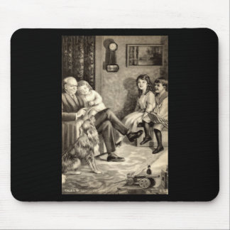 Grandfather's Tales Vintage 1918 Mouse Pad