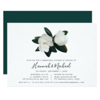 Grandiflora Rehearsal Dinner Invitation