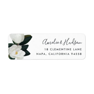 Grandiflora Return Address Label