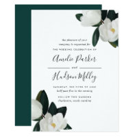 Grandiflora Wedding Invitation