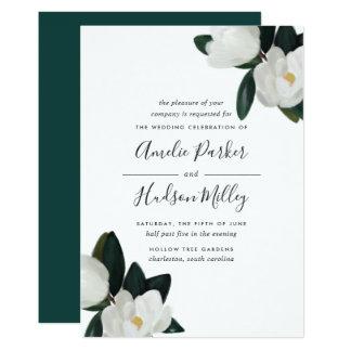 Grandiflora Wedding Invitation