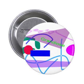 Grandioso Pin Redondo 5 Cm