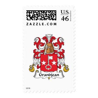 Grandjean Family Crest Stamps