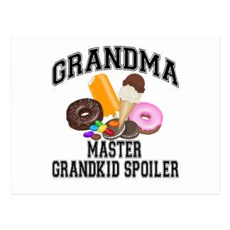 Grandkid Spoiler Grandma Postcard