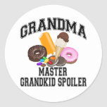 Grandkid Spoiler Grandma Stickers