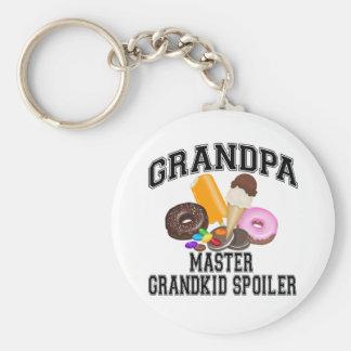 Grandkid Spoiler Grandpa Key Chain