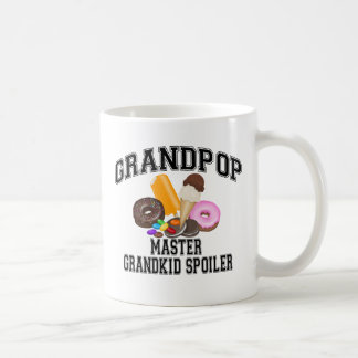 Grandkid Spoiler Grandpop Coffee Mug