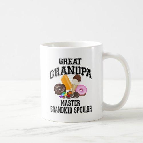 Grandkid Spoiler Great Grandpa Coffee Mug