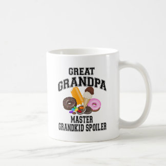 Grandkid Spoiler Great Grandpa Classic White Coffee Mug