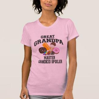 Grandkid Spoiler Great Grandpa T-Shirt