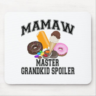 Grandkid Spoiler Mamaw Mouse Pad