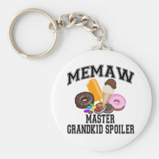 Grandkid Spoiler Memaw Keychain