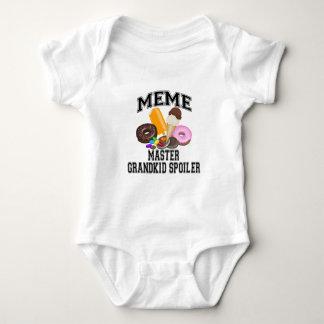 Grandkid Spoiler Meme Baby Bodysuit