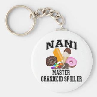 Grandkid Spoiler Nani Keychain