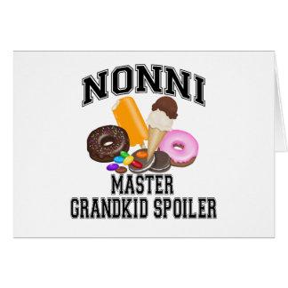 Grandkid Spoiler Nonni Card