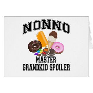 Grandkid Spoiler Nonno Card