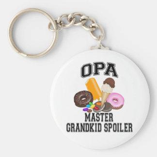 Grandkid Spoiler Opa Keychain