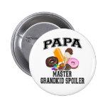 Grandkid Spoiler Papa Button