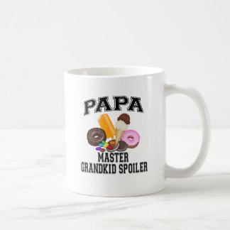 Grandkid Spoiler Papa Coffee Mug