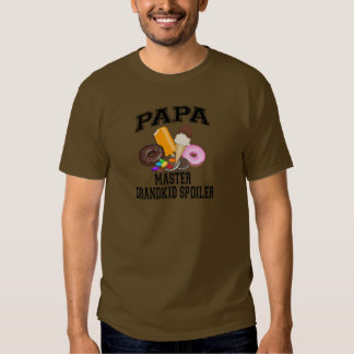 Grandkid Spoiler Papa T Shirt