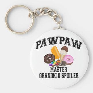 Grandkid Spoiler PawPaw Key Chain