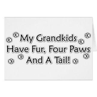 Grandkids are Animals Card