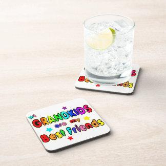 Grandkids Best Friends Beverage Coaster