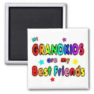Grandkids Best Friends Magnet