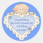 Grandkids Rewards Stickers