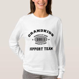 Grandkids Support Team 2011 Grandma T-Shirt