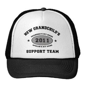 Grandkids Support Team Grandma Trucker Hat