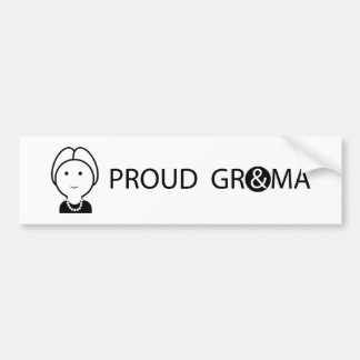 GRANDMA1_BUMPER STICKER