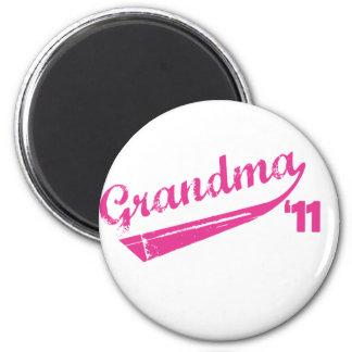 Grandma '11 T-shirt 2 Inch Round Magnet