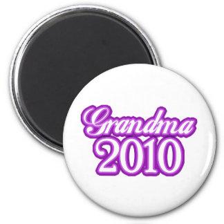 Grandma 2010 magnet