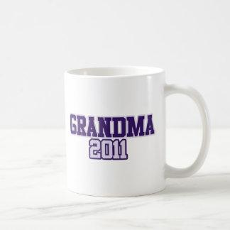 Grandma 2011 Granny to be Coffee Mug