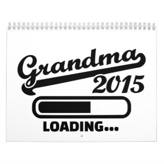 Grandma 2015 calendar