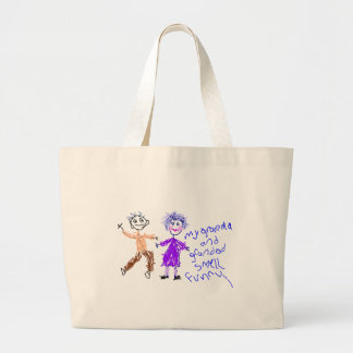 Grandma and Grandad Smell Funny Tote Bags
