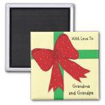 Grandma and Grandpa Magnet