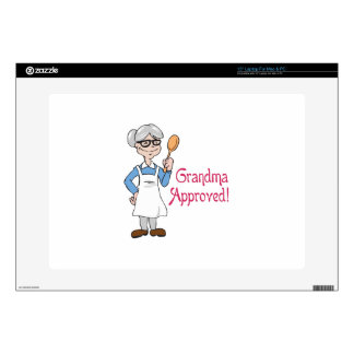 GRANDMA APPROVED DECAL FOR LAPTOP