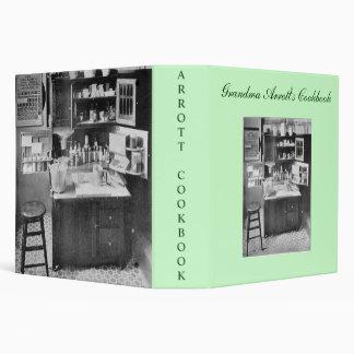 Grandma Arrott's Cookbook 3 Ring Binders