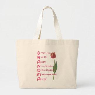 grandma canvas bag