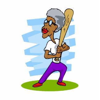 grandma batting cutout